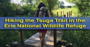 Tsuga Trail - Hiking in the Erie National Wildlife Refuge near Meadville, Pennsylvania