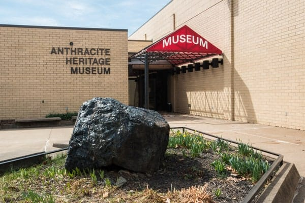 The Anthracite Heritage Museum in Scranton, Pennsylvania.