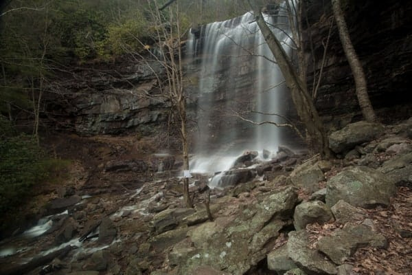Waterfalls in the Poconos: Glen Onoko
