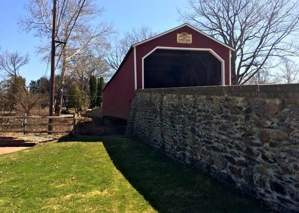Kreidersville Covered Bridge in Northampton County, PA