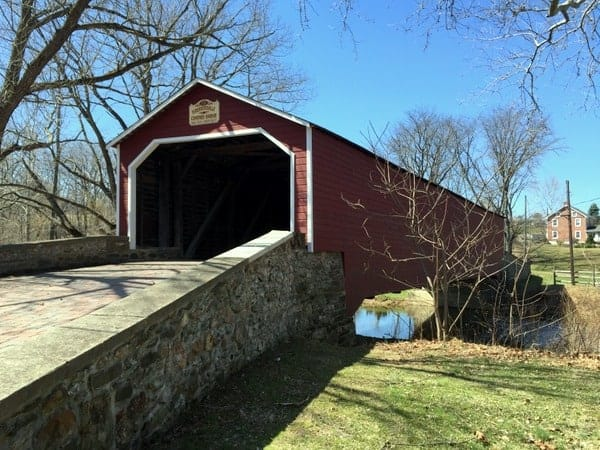 Covered Bridge near Bethlehem Pennsylvania