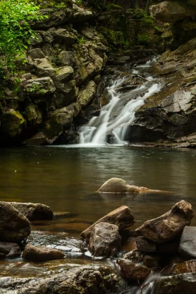 How to get to Seven Tubs Natural Area in Wilkes-Barre, Pennsylvania
