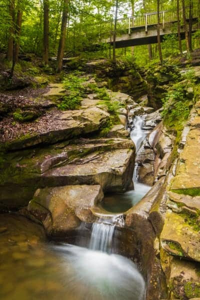 Visiting Seven Tubs Recreation Area in Luzerne County, PA