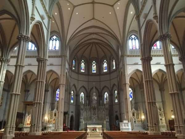 Beautiful Churches in PIttsburgh: St. Paul Cathedral in Pittsburgh.