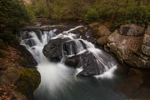 How to get to Wild Creek Falls in Beltzville State Park.