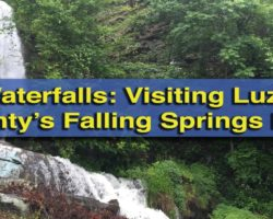 Pennsylvania Waterfalls: Falling Springs Falls in Luzerne County, PA