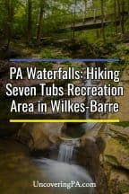 Pennsylvania Waterfalls: Hiking in Seven Tubs Recreation Area in Wilkes-Barre