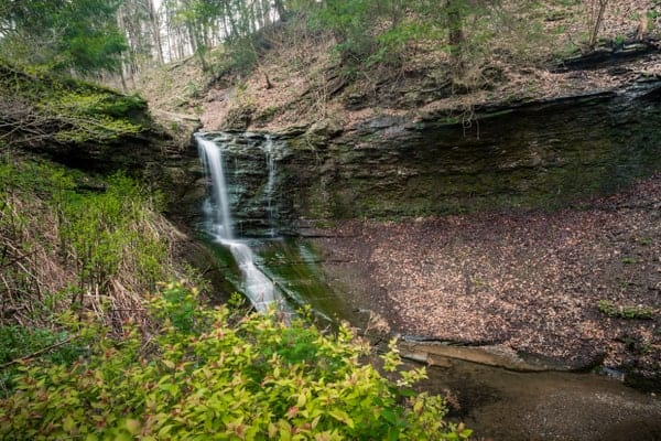 Hiking at Fall Run Park is one of many fun things to do in Pittsburgh with kids