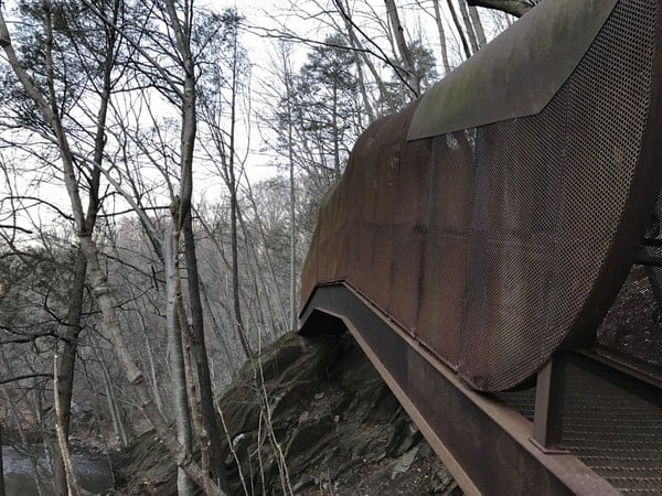 Things to see in Wissahickon Valley Park: The Fingerspan Bridge