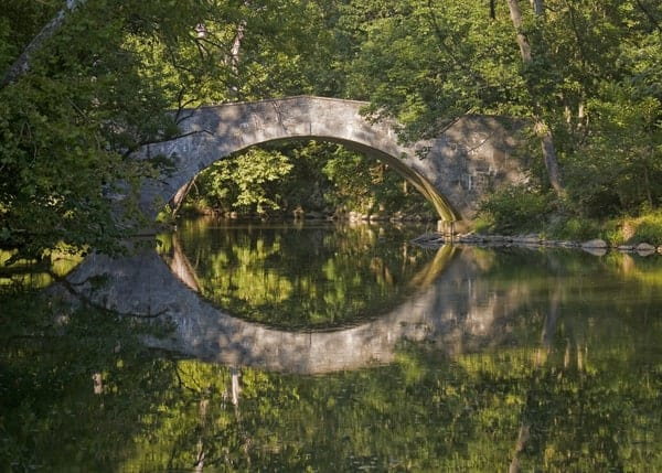 Stone Arch Bridge in Franklin County, Pennsylvania