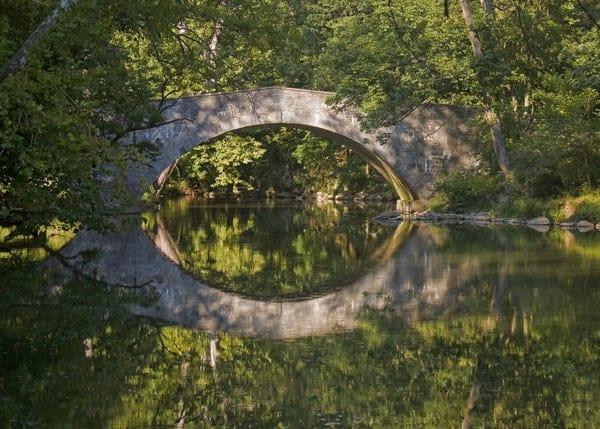 Stone Arch Bridge in Franklin County, Pennsylvania