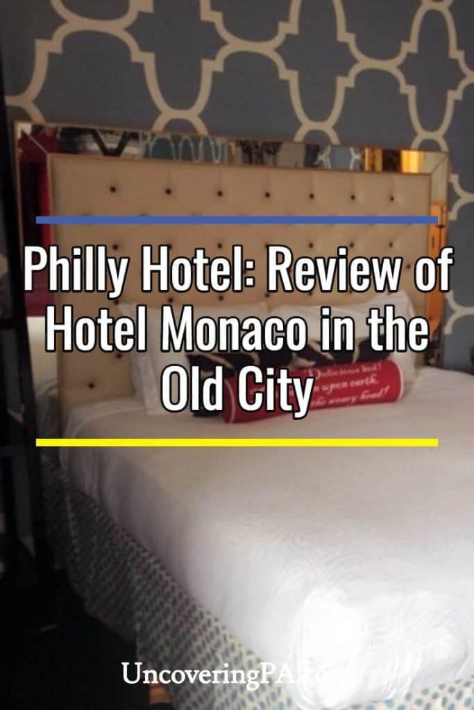 Philadelphia Hotels: Review of Hotel Monaco in the Old City of Philadelphia, Pennsylvania