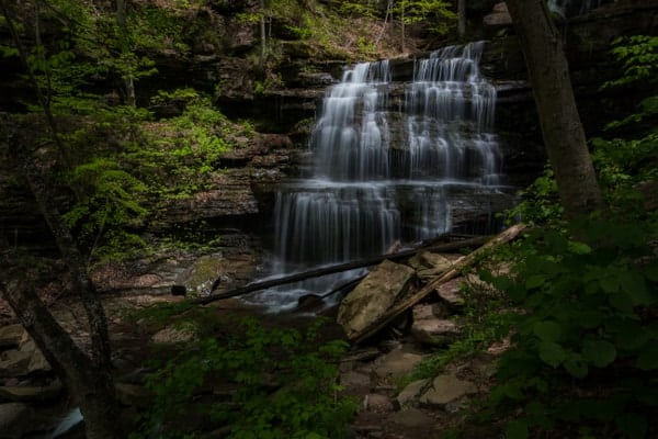 Best Pennsylvania State Parks for waterfalls: Leonard Harrison State Park