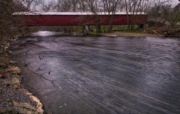Covered Bridges in Franklin County, Pennsylvania: Martin's Mill Covered Bridge