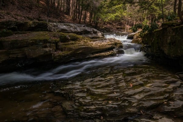 Hike to Rattlesnake Falls in Lackawanna County, PA