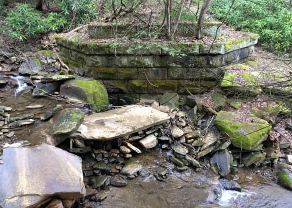 Johnstown Trolley Bridge near Stony Creek River.