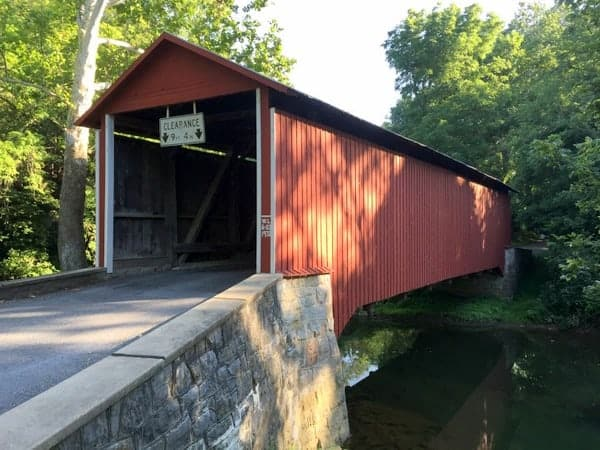 Witherspoon Covered Bridge in Franklin County, Pennsylvania