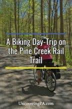 Tips for biking the Pine Creek Rail Trail through the Pennsylvania Grand Canyon