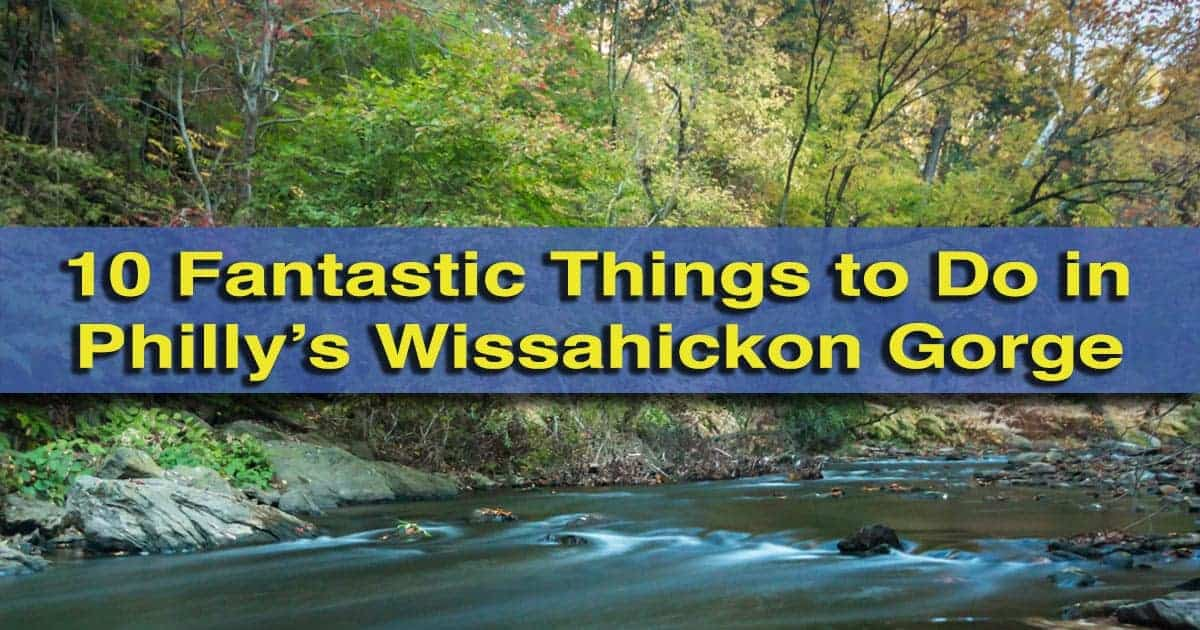 Uncoveringpa 10 fantastic things to do in wissahickon for Things to do philadelphia pa