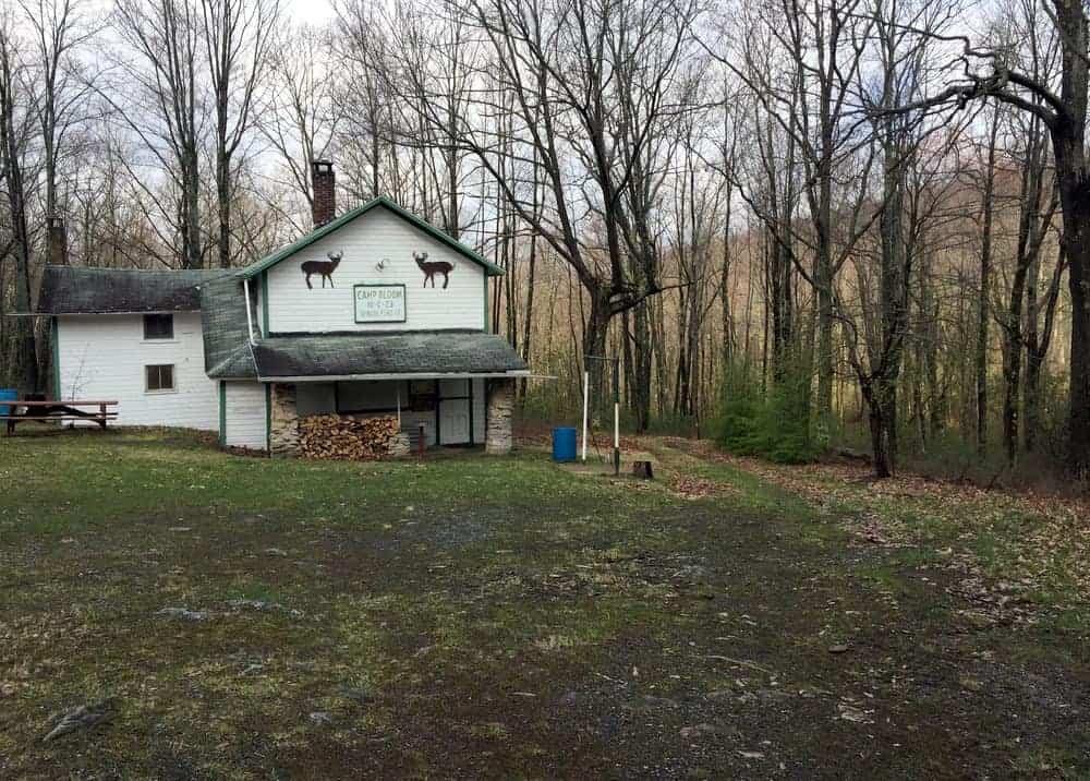 Trail to Yost Run Falls in Centre County, Pennsylvania