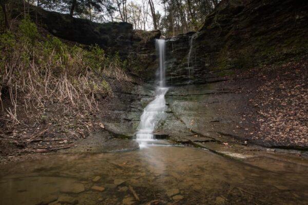 Waterfalls near Pittsburgh: Fall Run Falls in Shaler, PA