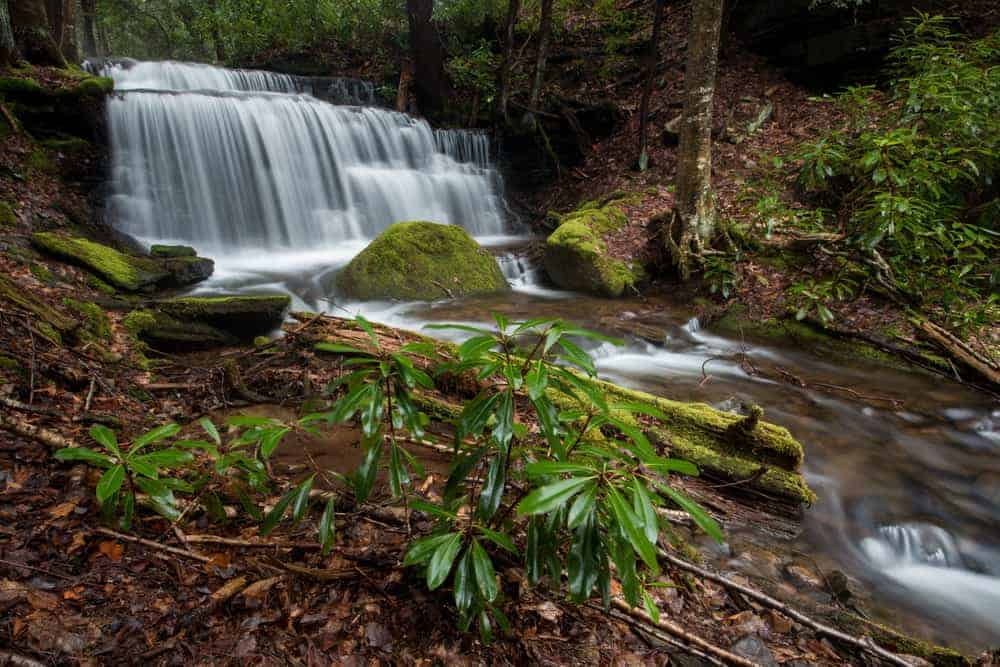 How to get to Yost Run Falls in Sproul State Forest