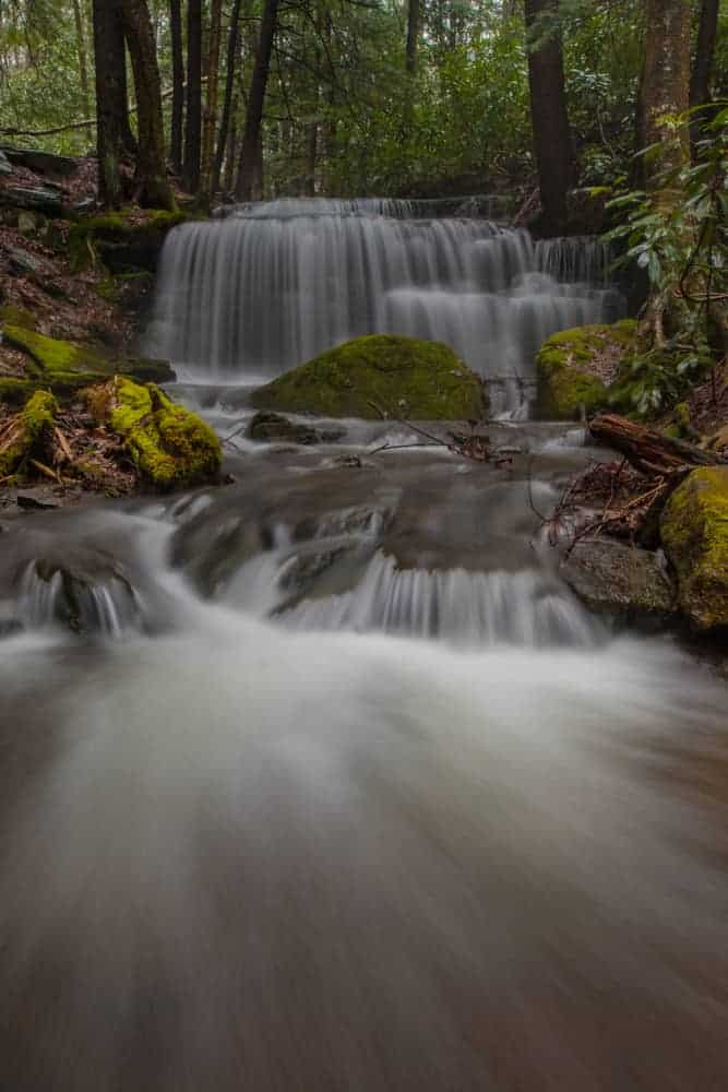 Photographing waterfalls in Pennsylvania: Yost Run Falls