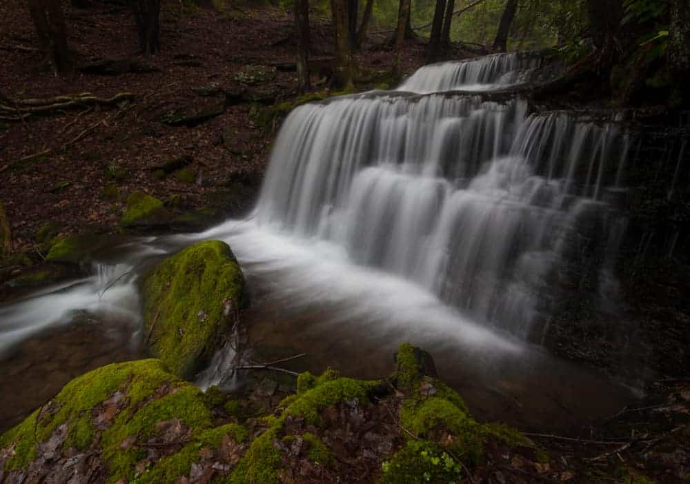 How to get to Yost Run Falls in Sproul State Forest in Pennsylvania