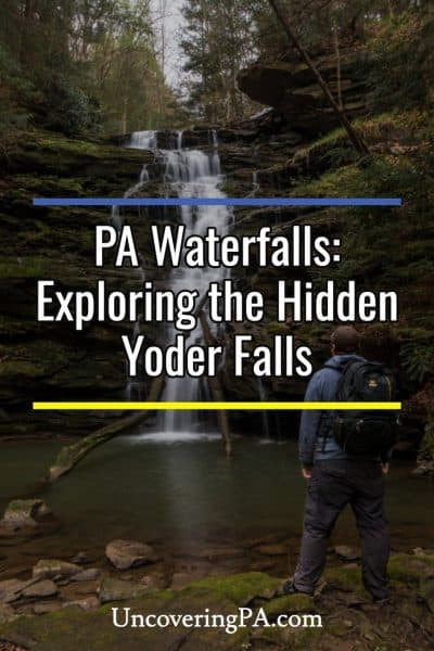 Pennsylvania Waterfalls: How to get to Yoder Falls near Johnstown