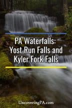 Pennsylvania Waterfalls: How to get to Yost Run Falls in Sprout State Forest