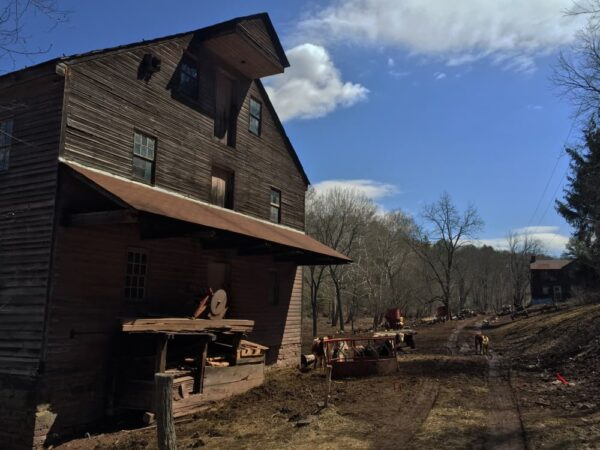 How to get to Feltons Mill Covered Bridge near Breezewood, PA