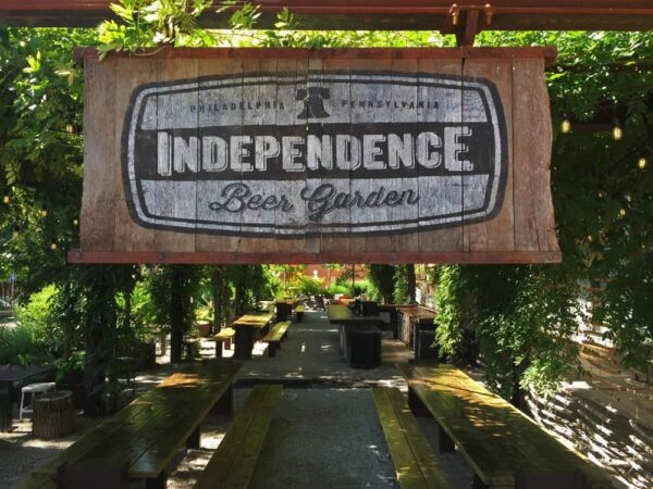 Philly Beer Garden: Independence Beer Garden