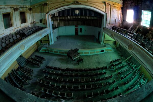 Auditorium at J.W. Cooper School in PA