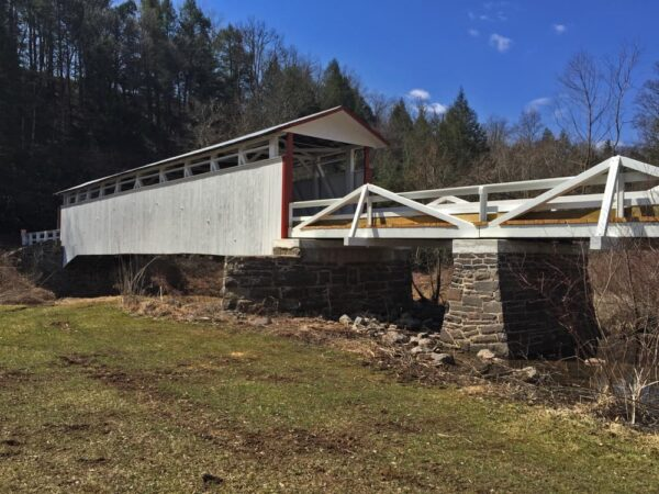 Jacksons Mill Covered Bridge in Bedford County, Pennsylvania