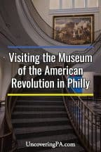 Discovering Revolutionary War history at the Museum of the American Revolution in Philadelphia, Pennsylvania