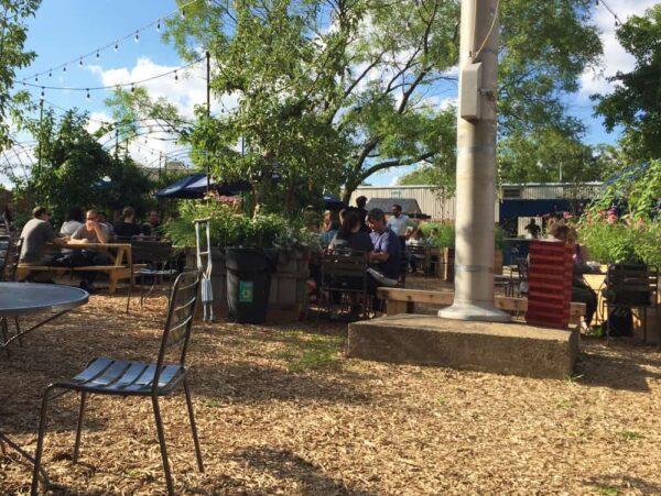 Philadelphia Beer Gardens: PHS Pop-Up Garden