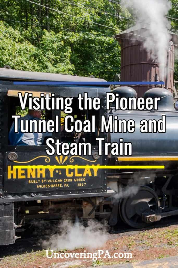 Exploring the history of Pennsylvania's coal fields at the Pioneer Tunnel Coal Mine and Steam Train in Ashland