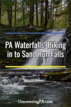 Pennsylvania Waterfalls: Hiking to Sand Run Falls in Tioga County
