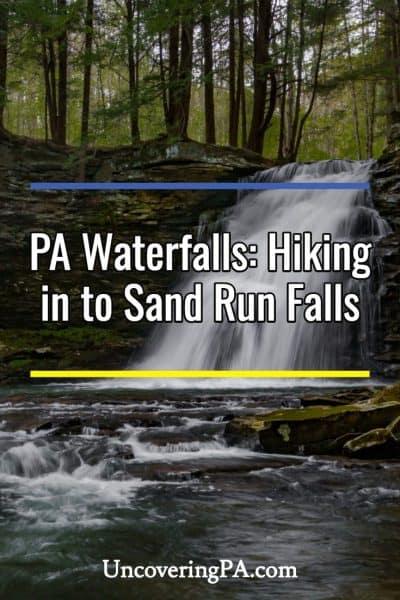 Pennsylvania Waterfalls: Hiking to Sand Run Falls in Tioga County