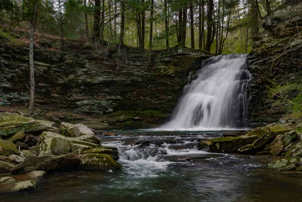 Sand Run Falls in Tioga State Forest