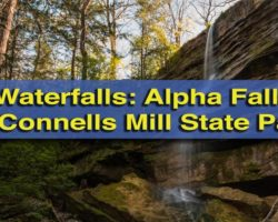 Pennsylvania Waterfalls: Hiking to Alpha Falls in McConnells Mill State Park