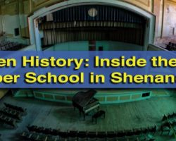 Hidden History: Inside the Abandoned J.W. Cooper School in Shenandoah, Pennsylvania