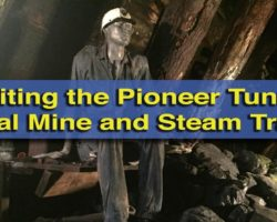 Exploring the History of PA's Coal Fields at the Pioneer Tunnel Coal Mine and Steam Train in Ashland