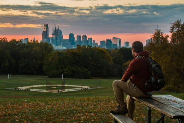 Best sunrise spots in Philly: Belmont Plateau