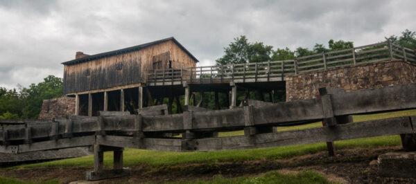 Eagle Ironworks at Curtin Village near Bellefonte, Pennsylvania