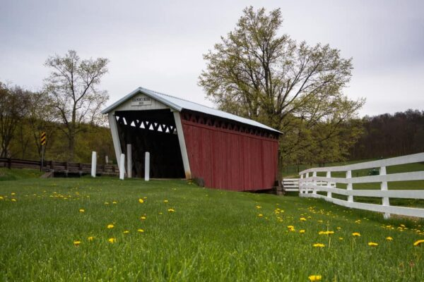 Harmon's Covered Bridge in Indiana County, Pennsylvania