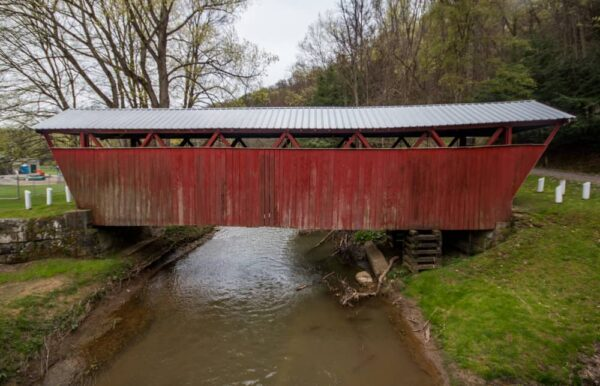How to get to Kintersburg Covered Bridge in Indiana County, Pennsylvania.