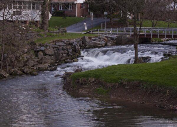Waterfalls near Carlisle: Letort Falls in Carlisle