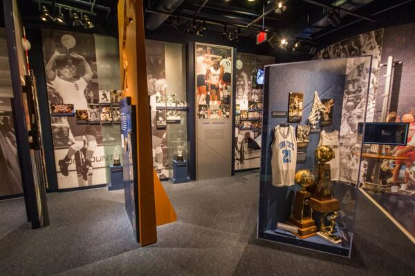 Inside the Penn State All-Sports Museum in State College, Pennsylvania