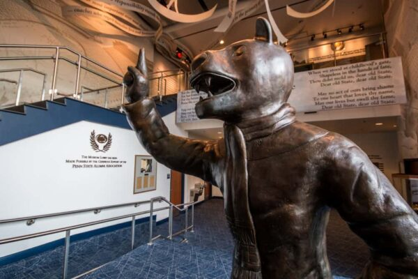 Visiting the Penn State All Sports Museum in State College, Pennsylvania